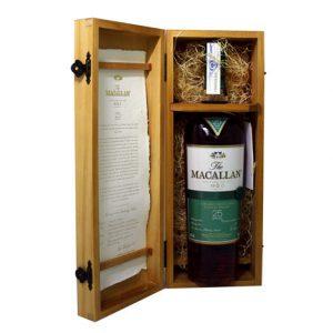 0000924 Whisky Macallan 25 Yo F Oak 70 Cl