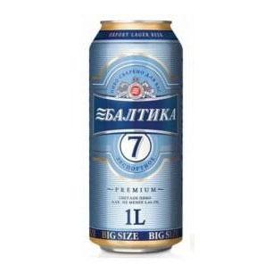 Bia Baltika Số 7 – 5,4% Nga Lon 1000ml