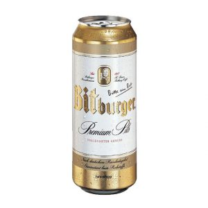 Bia Bitburger 5% Đức Lon 500 Ml