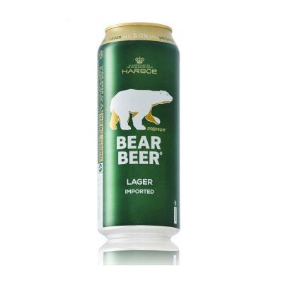 Bia Gấu Đức Bear Beer 5 độ 500 Ml