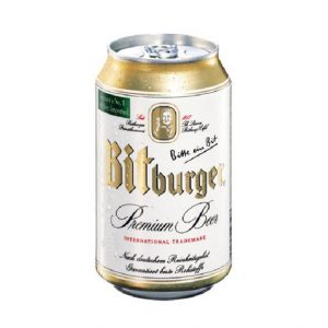 Bitburger 5% Đức – Lon 330 Ml
