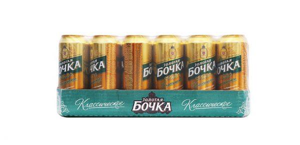 Bia Bochka Vang 24 Lon 500 Ml