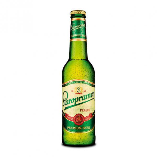 Staropramen Lager Bottle Web