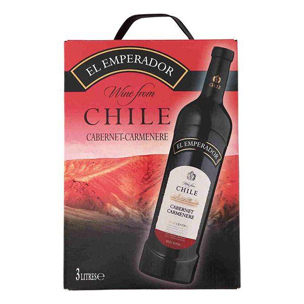 Vang Chile El Emperador Cabernet Carmenere (bịch 3L)