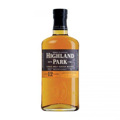 Highland Park 12 Year Old Single Malt Scotch Whisky 2