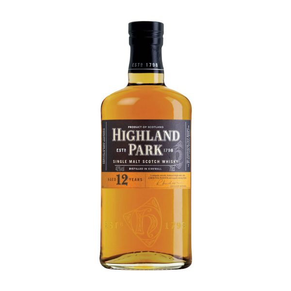Highland Park 12 Year Old Single Malt Scotch Whisky 2