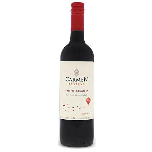 Vang Chile Carmen Reserva Red – White