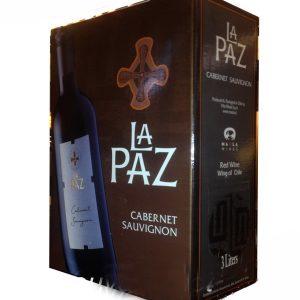 Vang Chile La Paz Cabernet Sauvignon Bich 3l
