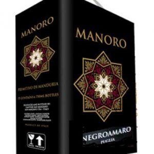 Ruou Vang Bich Manoro Negroamaro Bịch 3 Lít