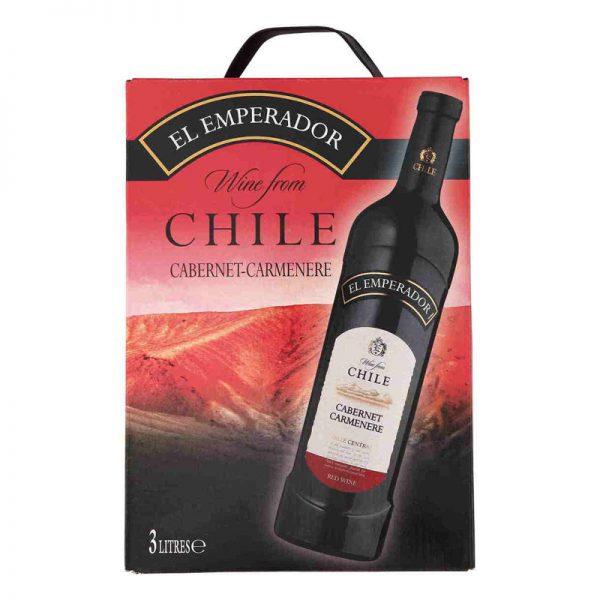 Vang Chile El Emperador Cabernet Carmenere
