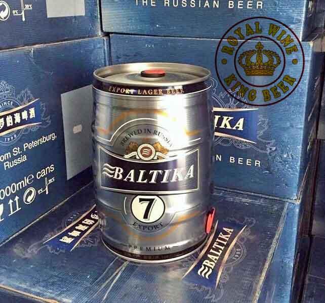 Bia bom Baltika số 7 Nga