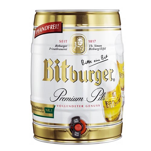Bia Bitburger Bom 5 Lit