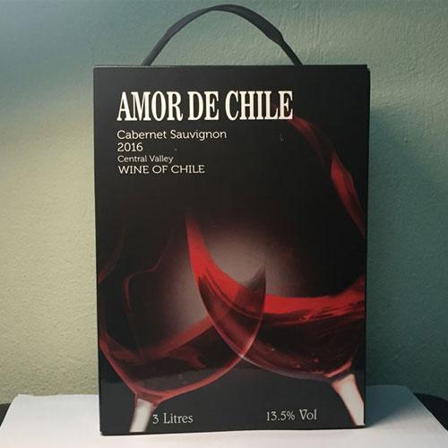Ruou Vang Bich Amor De Chile 3 Lit 5 Lit