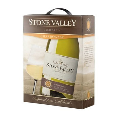 Ruou Vang Stone Valley Chardonnay Bich 3l