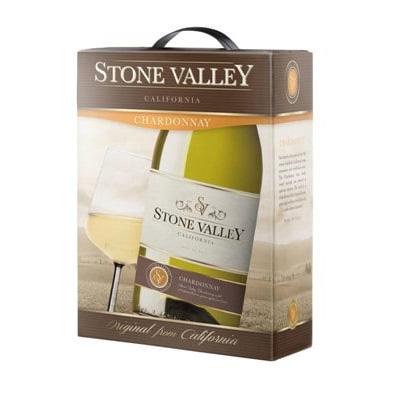 Ruou Vang Stone Valley Chardonnay Bich 3l