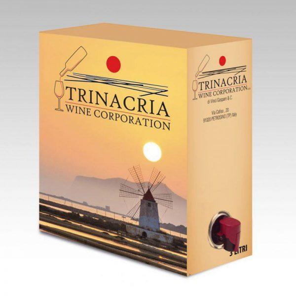 Vang Ý Bịch Trinacria Syrah