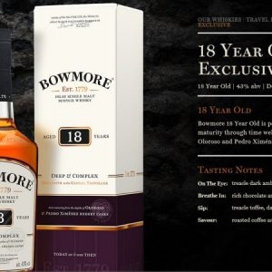 Bowmore 18 Qc