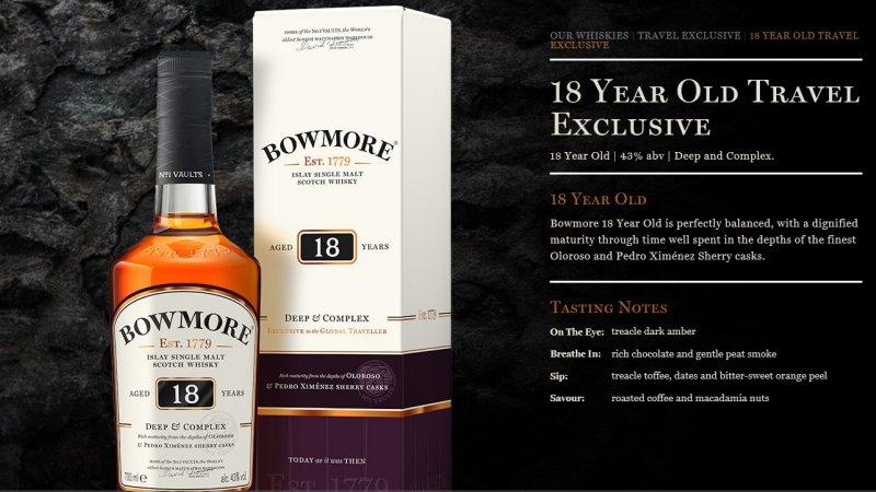 Bowmore 18 Qc