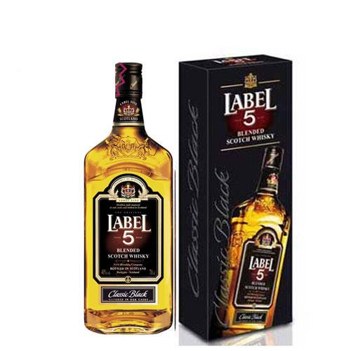 Rượu Label 5 Whisky 1 Lít