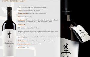 Rượu vang Ý Conte Giangirolamo Limited Edition - Rượu bia nhập khẩu