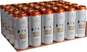 Bia- Gấu- Trắng- Két 24 Lon