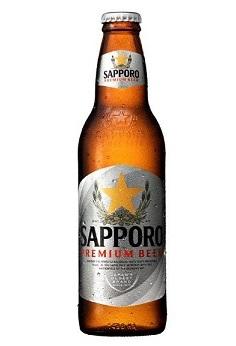 Bia Sapporo Premium Chai 330 Ml Nhat