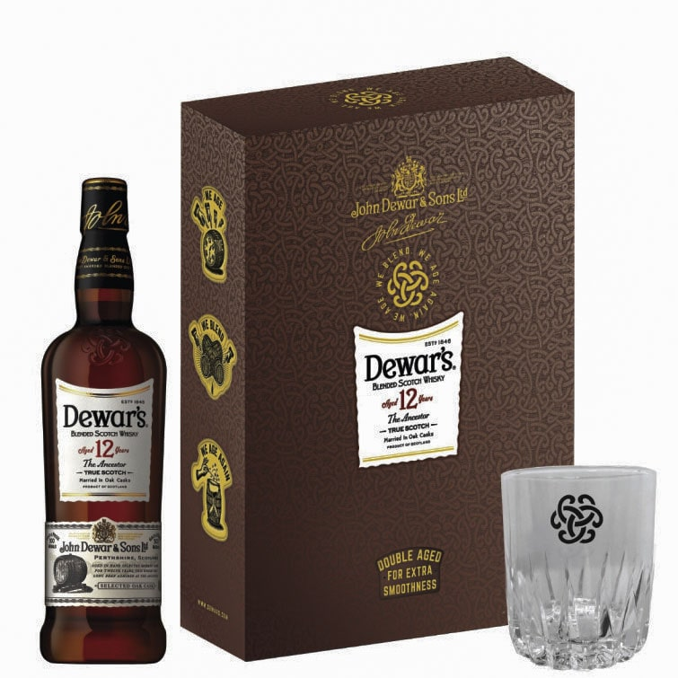 Dewars Ancestor 12 Years Old