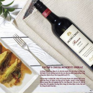 Jacobs Creek Reserve Shiraz 1
