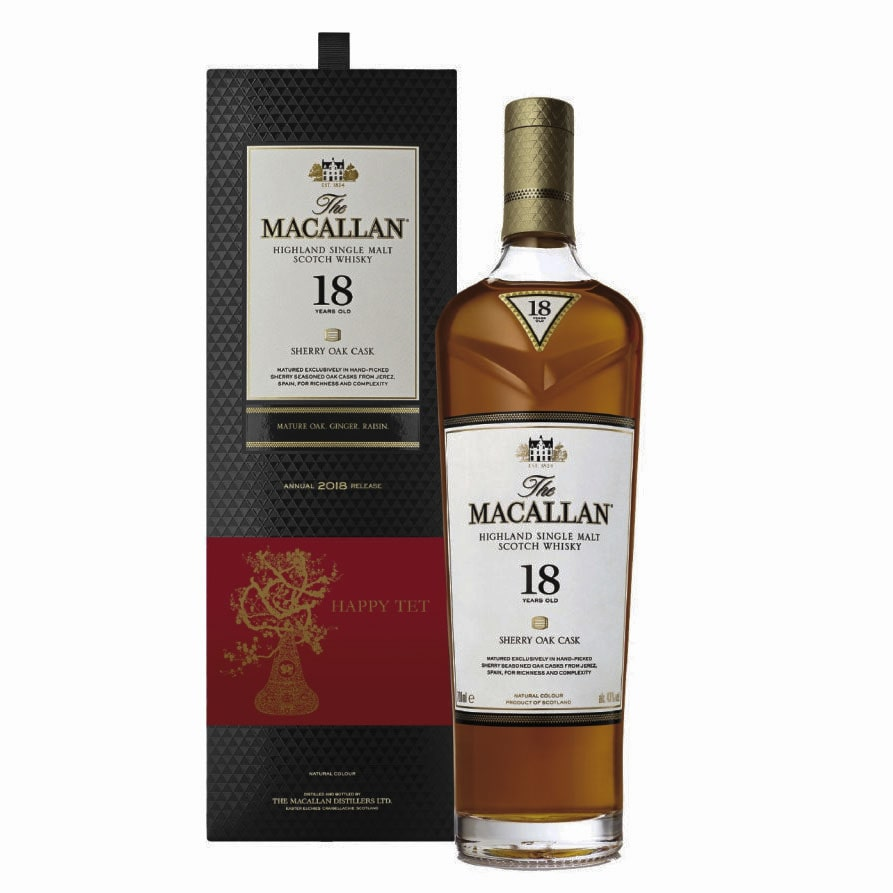 Macallan Fine Oak 18 Years Old Min