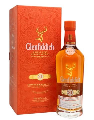 Glenfiddic 21 Y.O UK