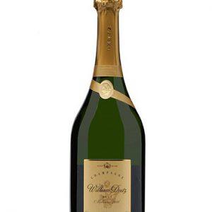 Rượu Vang Champagne Cuvee William Deutz Chai