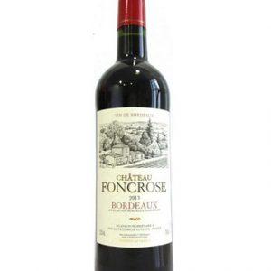 Rượu Vang Chateau Foncrose Bordeaux Chai