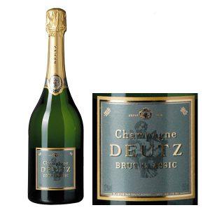 Rượu Vang Nổ Deutz Brut Classic Nhãn