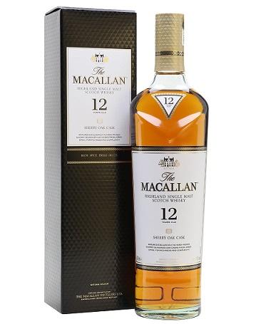 Maccalan 12 Y.O Sherry Oak Mới