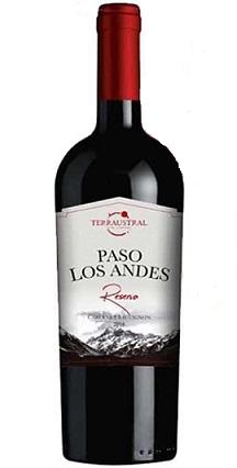 Vang Chi lê Paso Los Andes Reserva - Rượu bia nhập khẩu