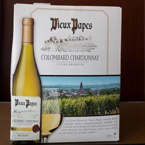 Vang Bịch Pháp Vieux Papas ( Colombard Chardonnay)