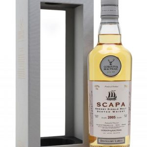 GM Distillery Label Scapa 2005 13 Y.O