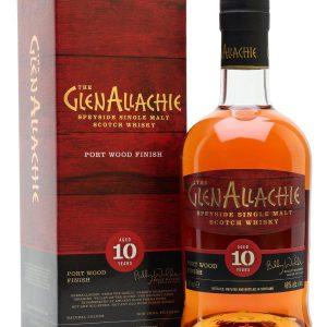 Glen Allachie Port Wood Finish 10 Y.O 48 độ
