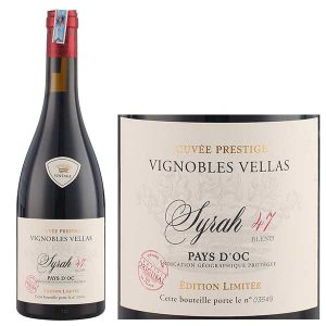 Vignobles Vellas Syrah 47 Cuvee Prestige 1