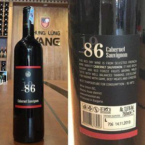 Cabernet Sauvignon 86
