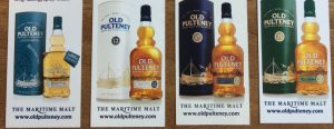 Old Pulteney Colection