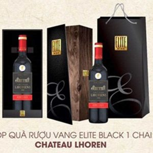 Hop Qua Vang Elit Black Chateau LHOREN