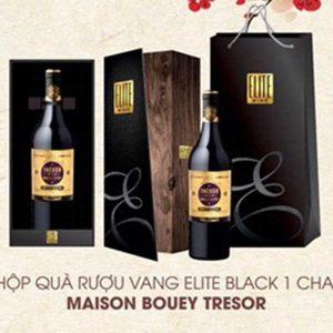 Hop Qua Vang Elit Black Maison Bouey Tresor