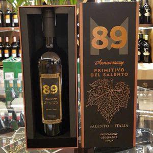 Vang Y 89 Anniversary Primitivo Del Salento