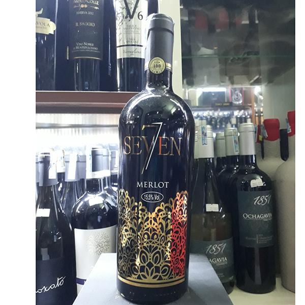 Vang ý seven merlot - Rượu bia nhập khẩu