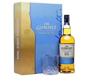 Glenlivet 1824 Founders Xanh Hop Qua Tet 2020
