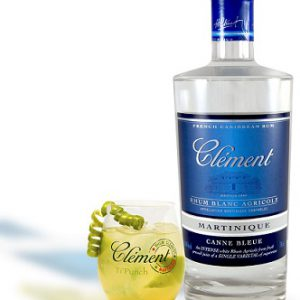 Clement RHUM BLANC 50° 70CL CANNE BLEUE