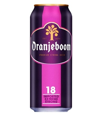 Bia Hà Lan Oranjeboom Extreme Strong 18 Lon 500 Ml