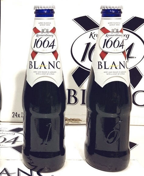 Kronenbourg Beer 1664 Blanc Chai 330ml Hinh Anh That
