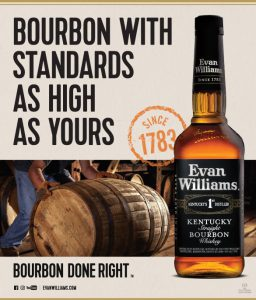 Rươu Whisky Evan Williams Bourbon Qc